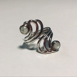 Jewelry - Wavy Artistic Sterling Silver Ring